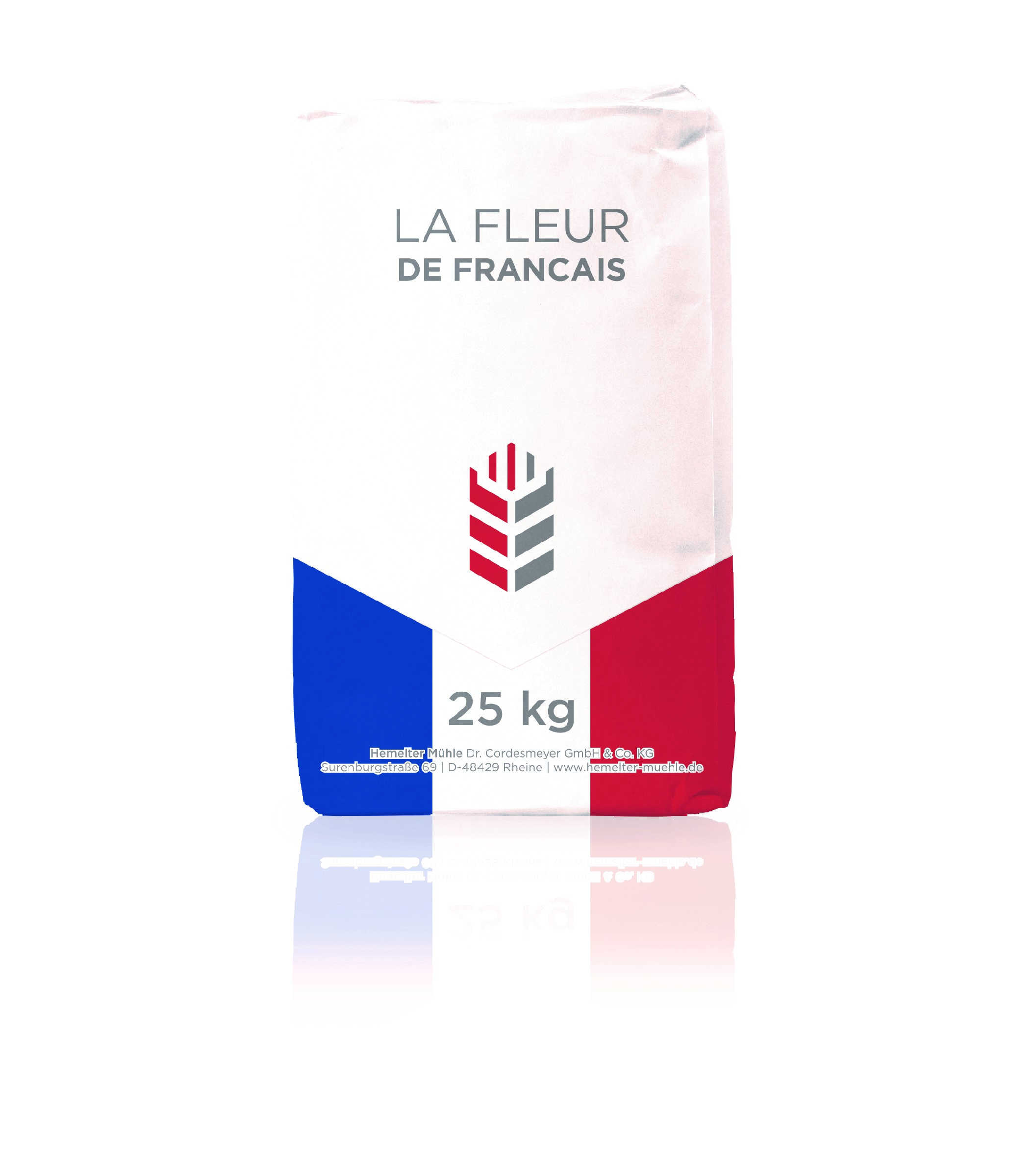 Sackabbildung La Fleur de Francais